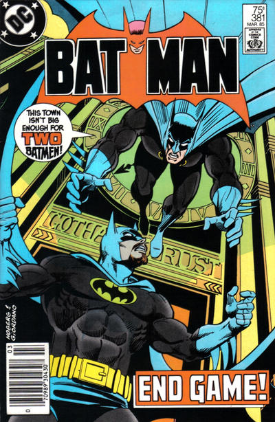 Cover for Batman (DC, 1940 series) #381 [Direct]
