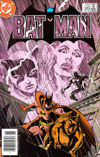Cover for Batman (DC, 1940 series) #389 [Newsstand]