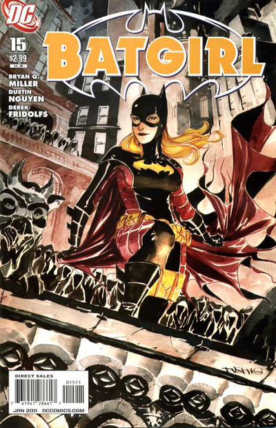 Cover for Batgirl (DC, 2009 series) #15 [Direct Sales]