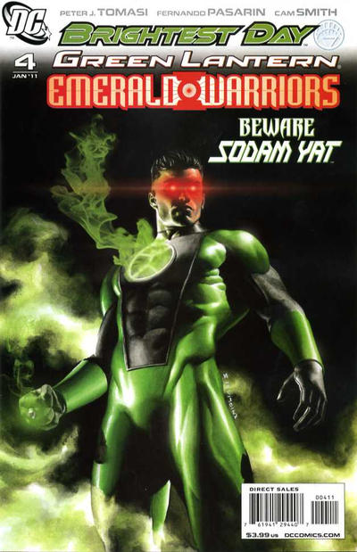 Cover for Green Lantern: Emerald Warriors (DC, 2010 series) #4