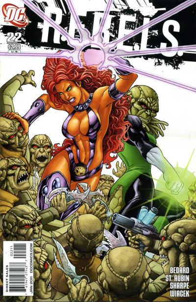 Cover for R.E.B.E.L.S. (DC, 2009 series) #22