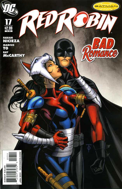 Cover for Red Robin (DC, 2009 series) #17