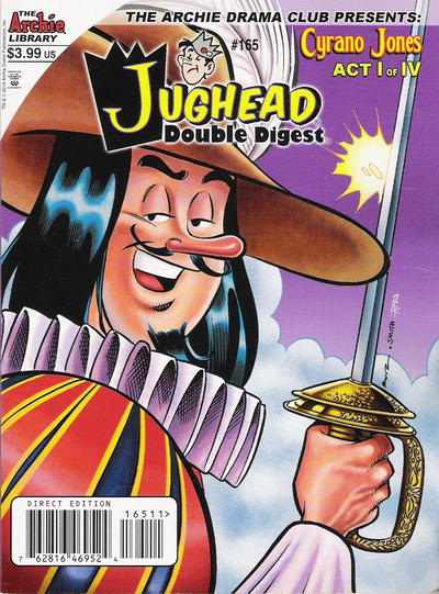 Cover for Jughead's Double Digest (Archie, 1989 series) #165 [Direct]