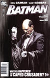 Cover Thumbnail for Batman (1940 series) #686 [Alex Ross Newsstand Cover]