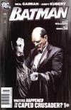 Cover for Batman (DC, 1940 series) #686 [Alex Ross Newsstand Cover]
