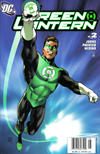 Cover Thumbnail for Green Lantern (2005 series) #2 [Newsstand]
