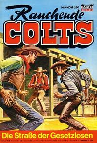 Cover Thumbnail for Rauchende Colts (Bastei Verlag, 1977 series) #4