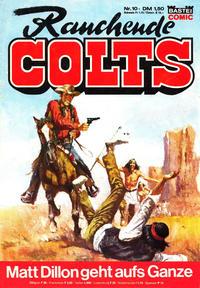 Cover Thumbnail for Rauchende Colts (Bastei Verlag, 1977 series) #10