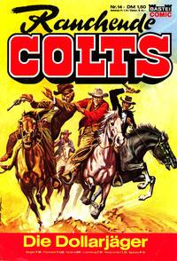 Cover Thumbnail for Rauchende Colts (Bastei Verlag, 1977 series) #14
