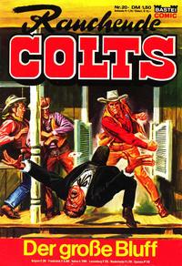 Cover Thumbnail for Rauchende Colts (Bastei Verlag, 1977 series) #20