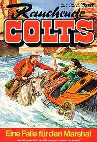Cover Thumbnail for Rauchende Colts (Bastei Verlag, 1977 series) #21