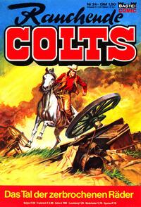 Cover Thumbnail for Rauchende Colts (Bastei Verlag, 1977 series) #24