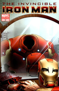Cover Thumbnail for Invincible Iron Man (Marvel, 2008 series) #31 [Vampire Variant]