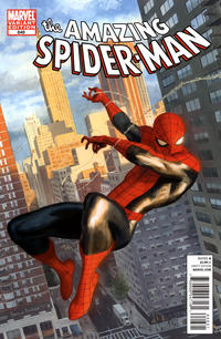Cover Thumbnail for The Amazing Spider-Man (Marvel, 1999 series) #646 [Paolo Rivera Variant Cover]