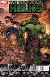 Cover Thumbnail for Incredible Hulks (Marvel, 2010 series) #612 [Second Printing]