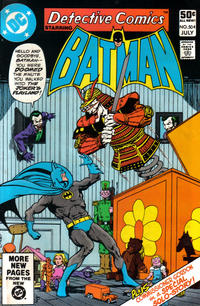 Cover Thumbnail for Detective Comics (DC, 1937 series) #504 [Direct]