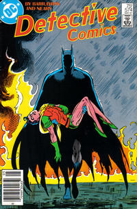 Cover Thumbnail for Detective Comics (DC, 1937 series) #574 [Newsstand Edition]