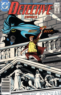 Cover Thumbnail for Detective Comics (DC, 1937 series) #594 [Newsstand]