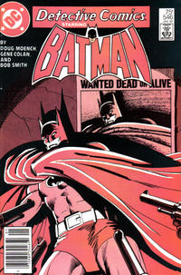 Cover Thumbnail for Detective Comics (DC, 1937 series) #546 [Newsstand]