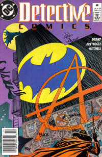 Cover Thumbnail for Detective Comics (DC, 1937 series) #608 [Newsstand]