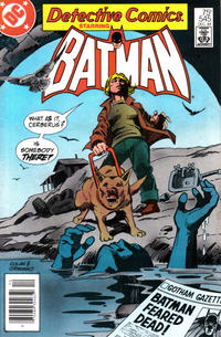 Cover Thumbnail for Detective Comics (DC, 1937 series) #545 [Newsstand]