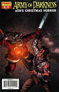 Cover Thumbnail for Army of Darkness: Ash's Christmas Horror Special (Dynamite Entertainment, 2008 series)