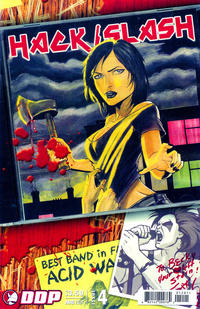 Cover Thumbnail for Hack/Slash: The Series (Devil's Due Publishing, 2007 series) #4 [Cover A]