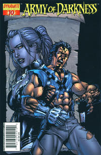 Cover Thumbnail for Army of Darkness (Dynamite Entertainment, 2005 series) #10 [Cover A - Kevin Sharpe]