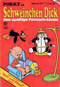 Cover for Schweinchen Dick (Condor, 1972 series) #84