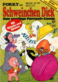 Cover for Schweinchen Dick (Condor, 1972 series) #106