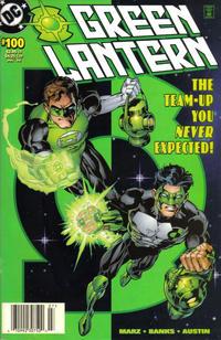 Cover for Green Lantern (DC, 1990 series) #100 [Hal Jordan & Kyle Rayner] [Direct Sales]