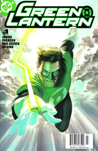 Cover Thumbnail for Green Lantern (DC, 2005 series) #1 [Newsstand - Alex Ross Cover]