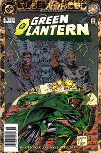 Cover Thumbnail for Green Lantern Annual (DC, 1992 series) #3 [Newsstand]
