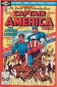 Cover Thumbnail for Captain America (Marvel, 1968 series) #255 [Direct Edition]