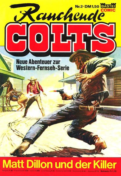 Cover for Rauchende Colts (Bastei Verlag, 1977 series) #2