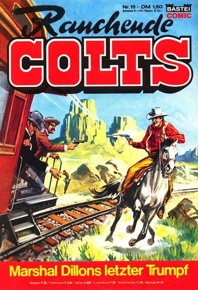 Cover for Rauchende Colts (Bastei Verlag, 1977 series) #15