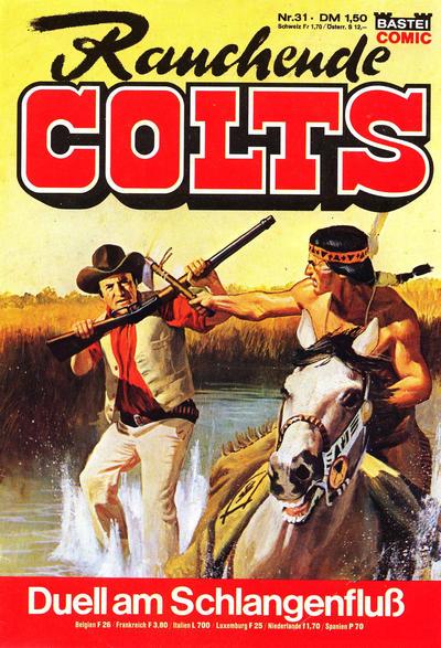 Cover for Rauchende Colts (Bastei Verlag, 1977 series) #31