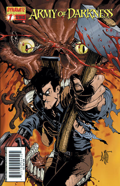 Cover for Army of Darkness (Dynamite Entertainment, 2005 series) #7 [Cover D - Michael O'Hare]