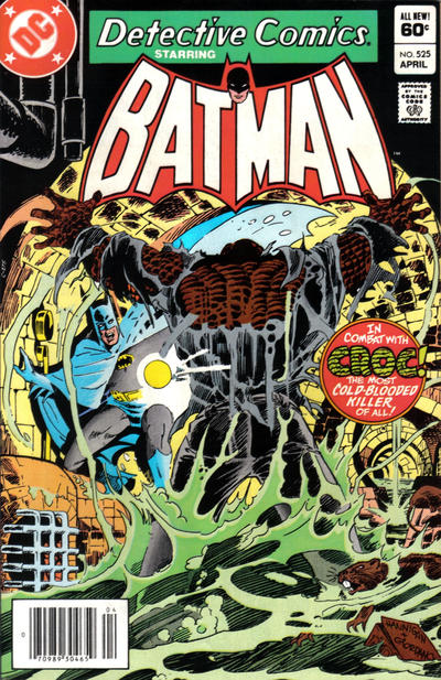 Cover for Detective Comics (DC, 1937 series) #525 [Direct Edition]
