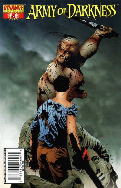 Cover for Army of Darkness (Dynamite Entertainment, 2005 series) #8 [Cover A]