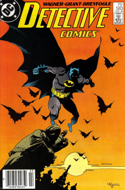 Cover for Detective Comics (DC, 1937 series) #583 [Newsstand]