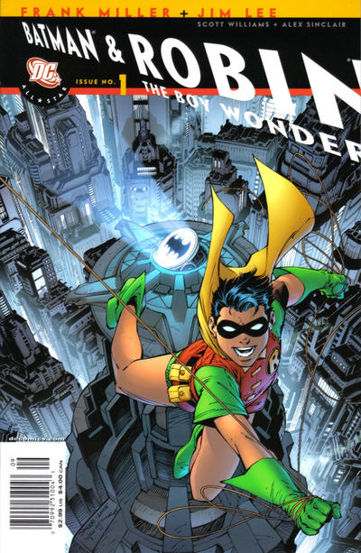 Cover for All Star Batman & Robin, the Boy Wonder (DC, 2005 series) #1 [Robin Cover - Newsstand Edition]