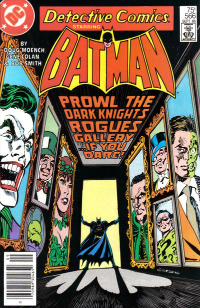 Cover for Detective Comics (DC, 1937 series) #566 [Newsstand]