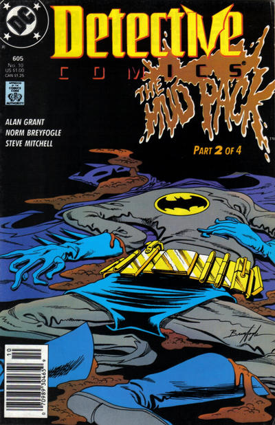 Cover for Detective Comics (DC, 1937 series) #605 [Direct]