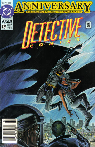 Cover for Detective Comics (DC, 1937 series) #627 [Direct]