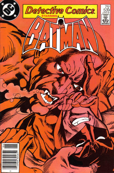 Cover for Detective Comics (DC, 1937 series) #539 [Direct]