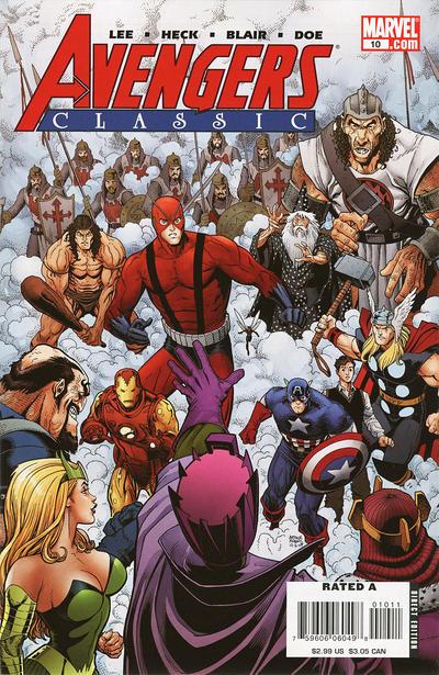 Cover for Avengers Classic (Marvel, 2007 series) #10