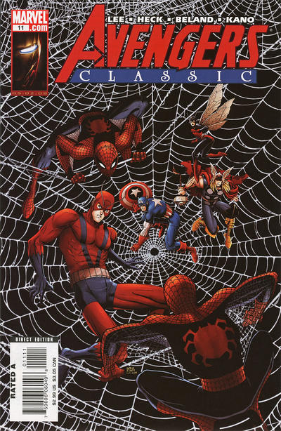 Cover for Avengers Classic (Marvel, 2007 series) #11