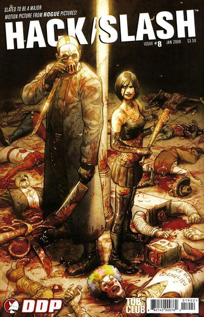 Cover for Hack/Slash: The Series (Devil's Due Publishing, 2007 series) #8