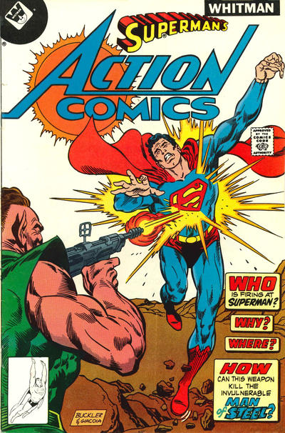 Cover for Action Comics (DC, 1938 series) #486 [Whitman cover]